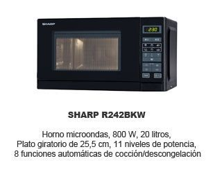Oferta Sharp r242bkw